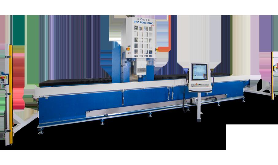 Röder Profilfräszentrum PFZ6000. Die neue Maschine für Ihren Maschinenpark.